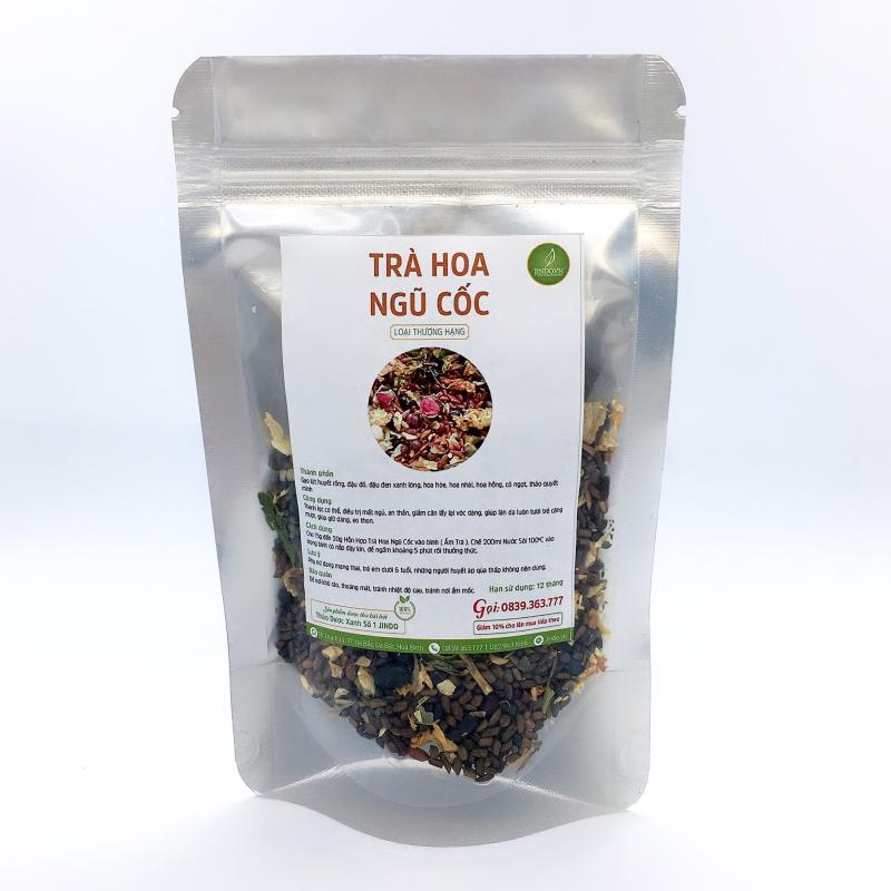 Trà hoa ngũ cốc loại thượng hạng (gói dùng thử 100gram) - JD170 Jindo cao cấp