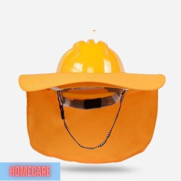 [freeship] Vành nón chắn nắng chống tia UV, bảo vệ phần đầu và vai gáy, giúp giảm thiểu ra mồ hôi do làm việc dưới trời nắng