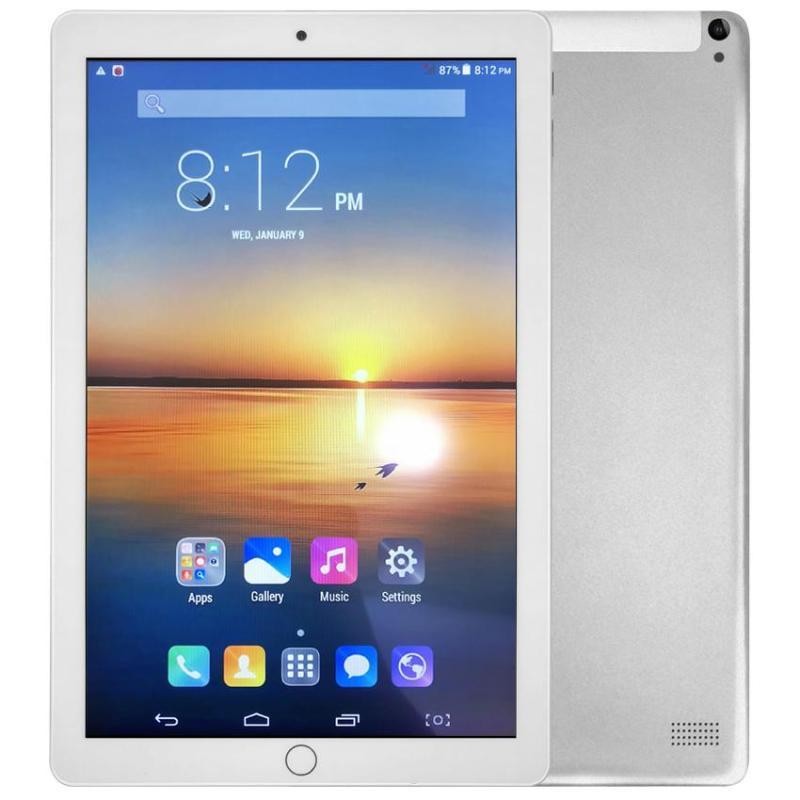 [Giá hủy diệt, miễn ship] Máy tính bảng 10.1 inch ROM 64G chip 8 nhân Android tablet 3G , wifi, chơi game Liên Quân - Bảo hành 12 tháng