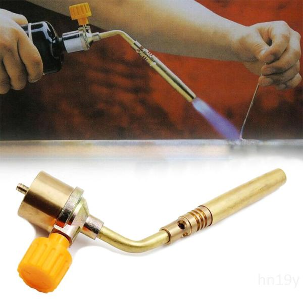 Mapp Gas Không tự đánh lửa Hệ thống nước Turbo Torch Propane Hàn Hàn hàn (Không Gas)L0ch5wrZ