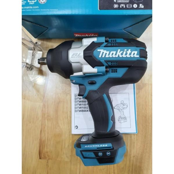 Máy siết bu lông dùng pin 118V Makita DTW1002Z (thân máy không pin sạc)