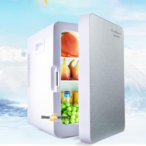Tủ Lạnh Mini Cho Ô Tô 12V-220V 20 Lít (Làm Mát Và Giữ Ấm)