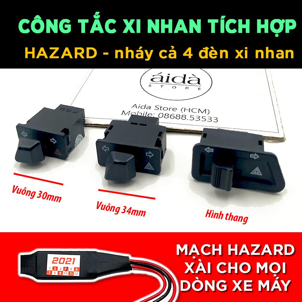 [HCM]Công tắc xi nhan tích hợp Hazard - chức năng nháy cả 4 bóng xi nhan