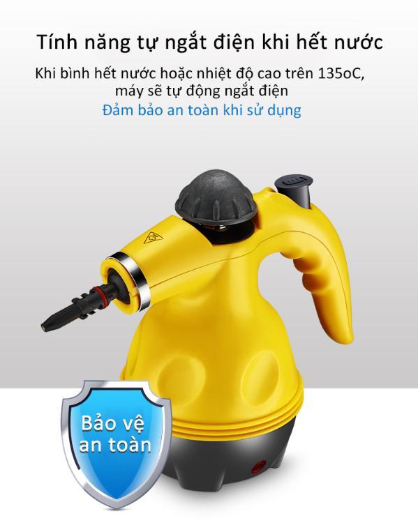 EuroHome - Máy vệ sinh nhà bếp đa năng, máy vệ sinh bằng hơi nước áp với lực nhiệt độ cao