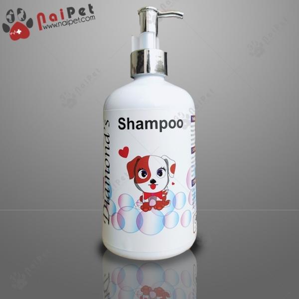 Sữa Tắm Làm Sạch Khử Mùi Hôi Da Lông Cho Chó Mèo Diamond 500ml