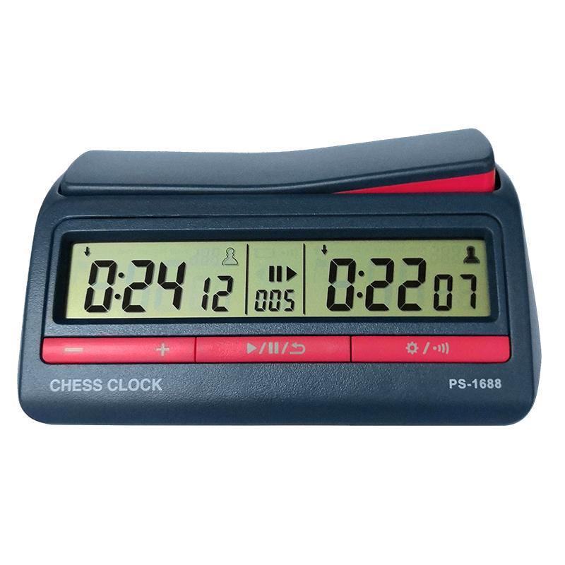 Giá Đồng hồ thi đấu cờ PS-1688 (42 chế độ chỉnh thời gian)