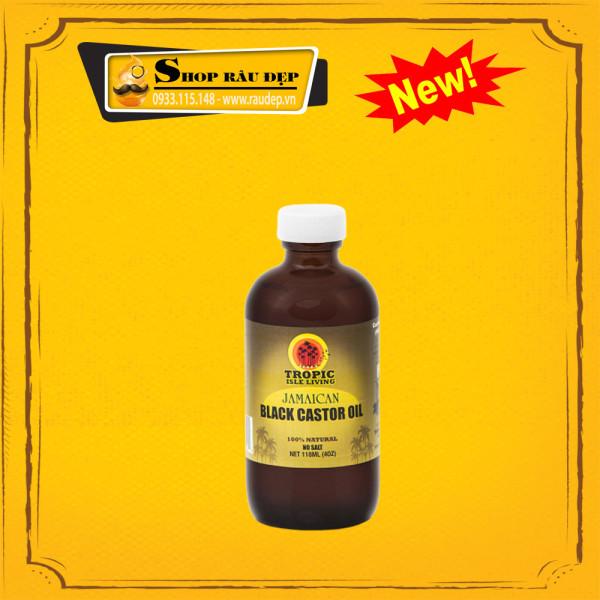 Dầu Dưỡng Râu, Chân Mày, Lông Mi Tóc Jamaican Black Castor Oil 118ml