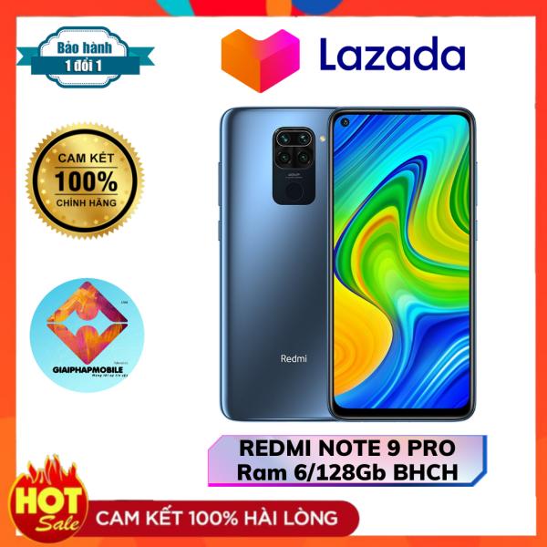 REDMI NOTE 9 PRO Ram 6/128G Snapdragon 720G  chưa sử dụng còn BHCH