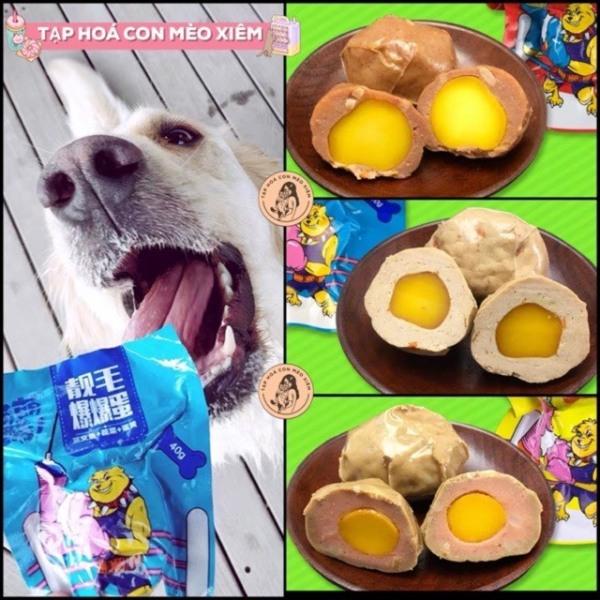 Viên trứng đa năng thần kì bổ sung năng lượng, chất dinh dưỡng cần thiết cho thú cưng chó - Đồ ăn dặm, đồ ăn thường cún