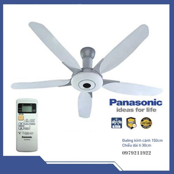 Quạt trần Panasonic có điều khiển từ xa F-60WWK
