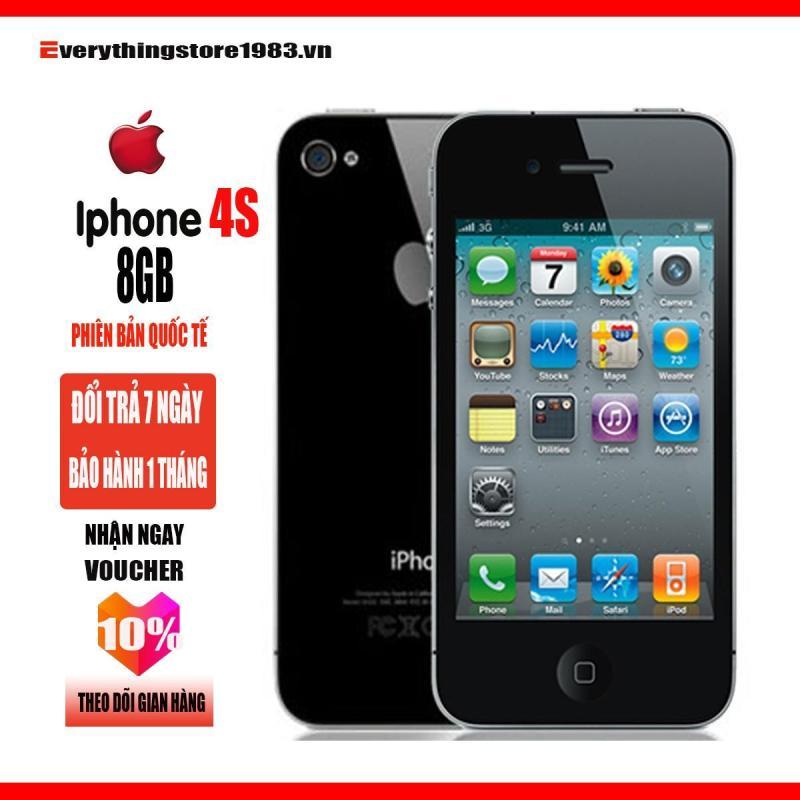 Điện thoại Apple iPhone 4S- 8GB - Full Phụ Kiện - phiên bản quốc tế - Bao đổi trả - Everythingstore1983.vn