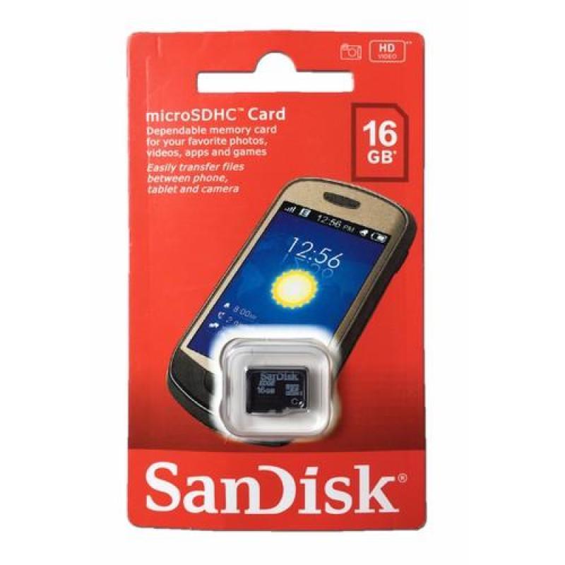 Thẻ nhớ sandisk 16g class 4 fullbox