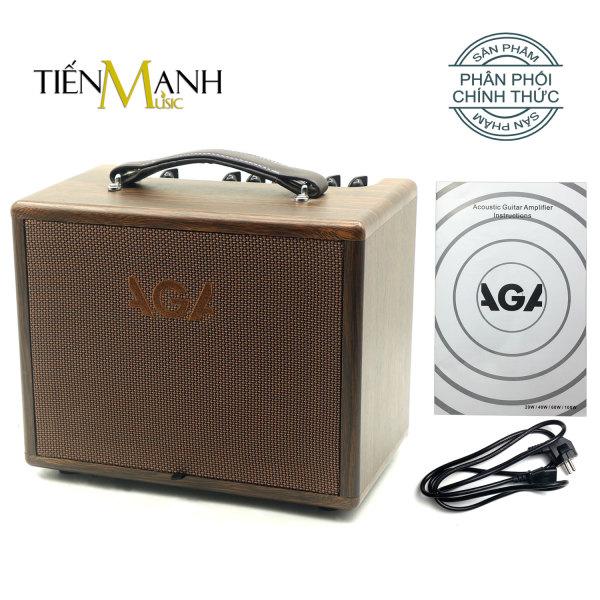[Bluetooth] Ampli Đàn Guitar Acoustic AGA SC-X1 (20W) - Loa Amply Nhạc Cụ Mộc Khuếch Đại Âm Thanh Thế hệ mới thay cho SC20 (SC-20-III) Instrument Amplifier SCX1