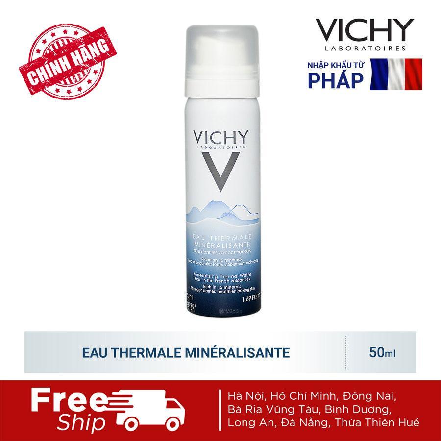 Nước Xịt Khoáng Dưỡng Da Vichy Mineralizing Thermal Water (50ml) tốt nhất