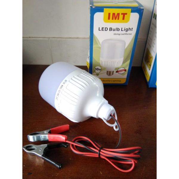 đèn led 40w dùng điện DC 12v ánh sáng trắng