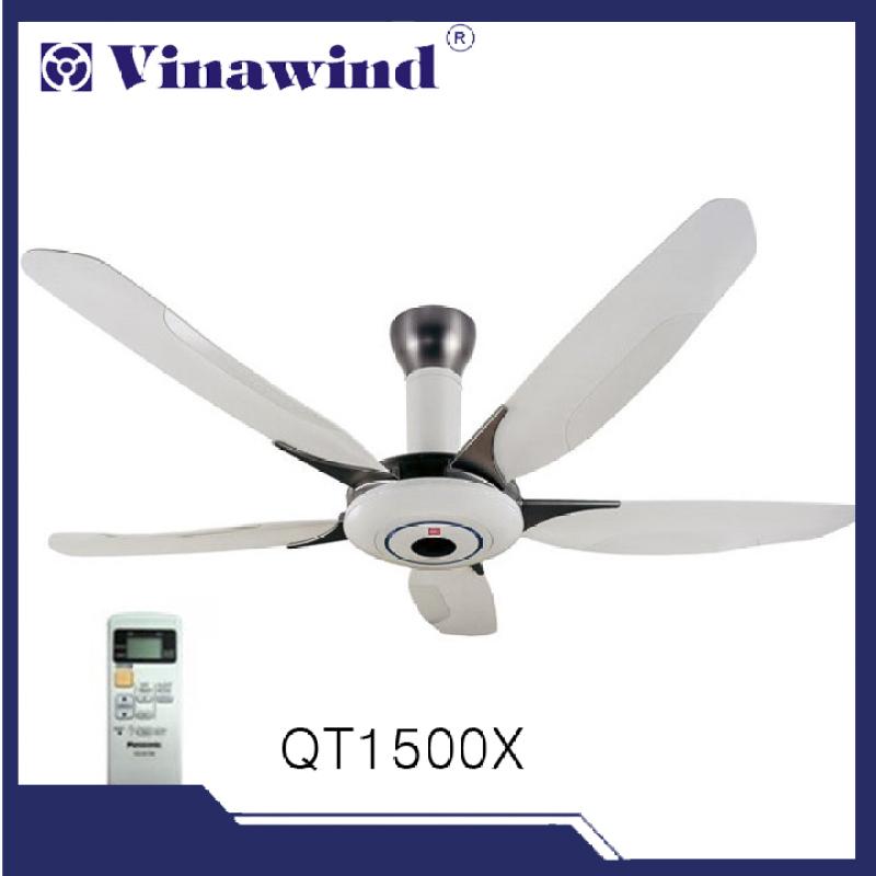 Quạt trần điện cơ Vinawind QT1500X(có điều khiển từ xa)