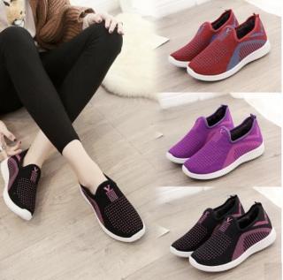 Giày sneaker nữ Size 36 đến 41 hàng cao cấp nhiều màu, full size, size chuẩn full hộp V128 + V135 + V139 thumbnail