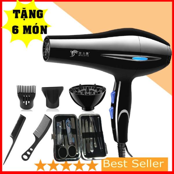 (mua 1 tặng 6)Máy Sấy Tóc Tạo kiểu  DELIYA 2200w-Phù hợp mọi kiểu tóc Tặng Full Phụ kiện(nhanhnhat