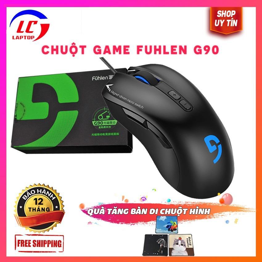 Giá Chuột Gaming Fuhlen G90 - phụ kiện chơi game laptoplc