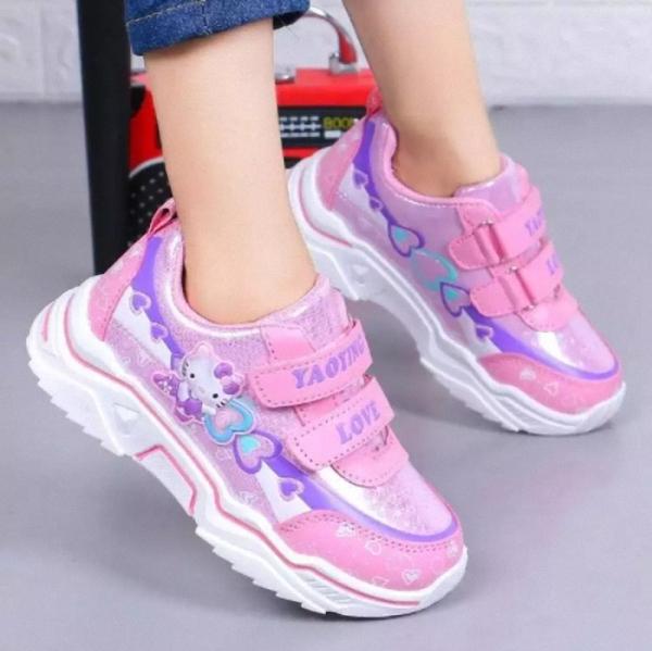 Giá bán Giày thể thao bé gái cao cấp size 27 - 37 phong cách - TT91