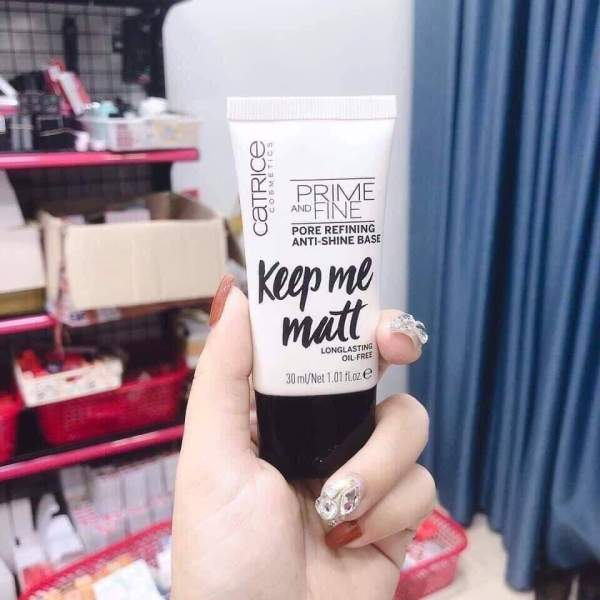 Kem Lót Kiềm Dầu Catrice Prime And Fine Pore Refining Anti Shine Base 30ml