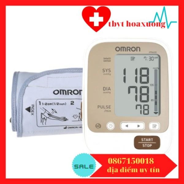 Nơi bán Máy đo huyết áp Omron JPN600 tặng bộ đổi nguồn