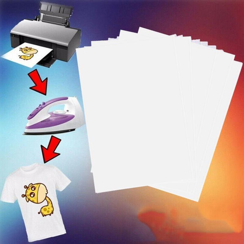 Mua A4 Giấy Truyền Sắt Trên Báo Nhiệt Đèn Vải In Phun Giấy Sơ A4 Mi In Cho Công Thủ Áo T B8K2