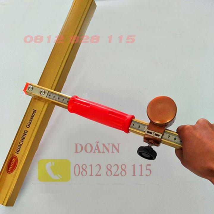 Dao cắt kính T 150cm Hudie Tặng Kèm Lưỡi Dao