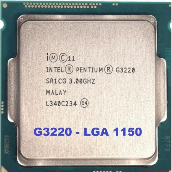 Bảng giá CPU Intel Pentium G3220 (3M Bộ nhớ đệm 3.00 GHz) Socket 1150 hỗ trợ dòng Main H81 B85 Z87 Z97... - BOX kèm FAN Phong Vũ