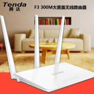 Bộ thu phát sóng Wifi và Repeater Tenda F3 Trắng TIẾNG TRUNG thumbnail