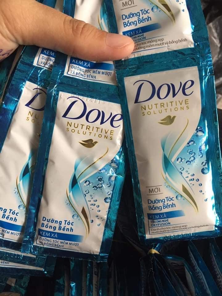 Combo 50 gói dầu Xả Dove 6g tốt nhất