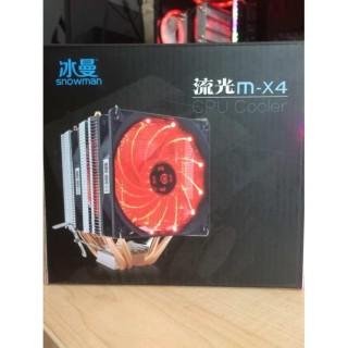 Tản nhiệt khí 4 ống đồng fan có led thumbnail