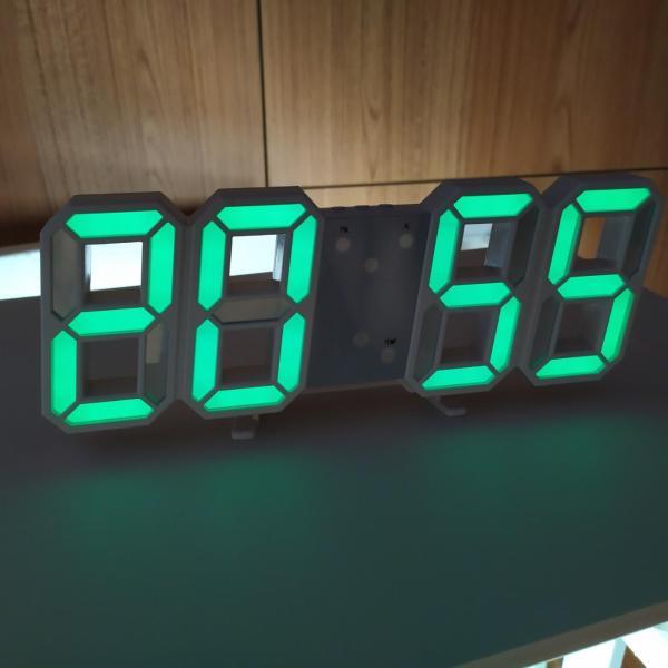 Nơi bán Đồng hồ treo tường LED CAO CẤP (TẶNG PIN + DÂY CÁP) ĐỒNG HỒ treo tường điện tử DH092