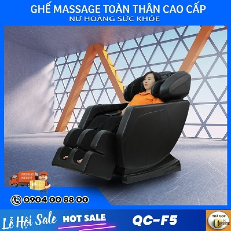 Ghế Massage Queen Crown QC-F5 Điều Khiển Cơ