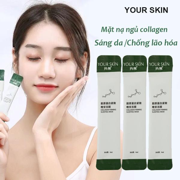 [15 gói lẻ] Mặt nạ dưỡng da YOUR SKIN mặt nạ ngủ collagen dưỡng ẩm chống lão hóa làm sáng da mặt nạ ngủ cấp ẩm mặt nạ nội địa Trung mặt nạ ngủ dưỡng trắng IW-MN303