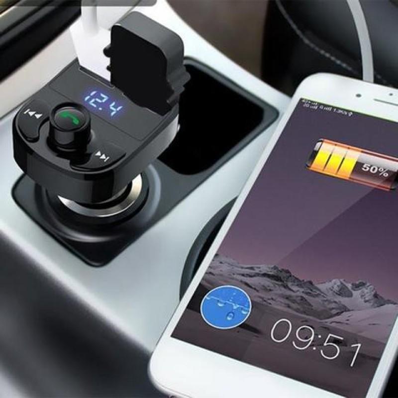 Dock Tẩu MP3 cho Ô Tô Xe Hơi Kết Nối Bluetooth