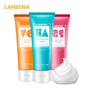 Sữa rửa mặt LANBENA làm sạch sâu dưỡng ẩm kiềm dầu thu nhỏ lỗ chân lông - INTL thumbnail