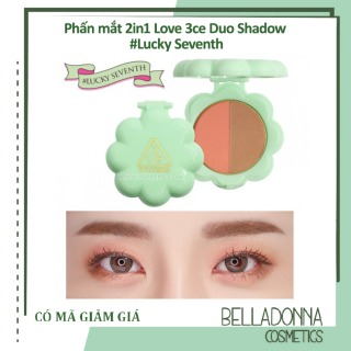 Phấn mắt 2in1 Love 3ce Duo Shadow Lucky Seventh thumbnail