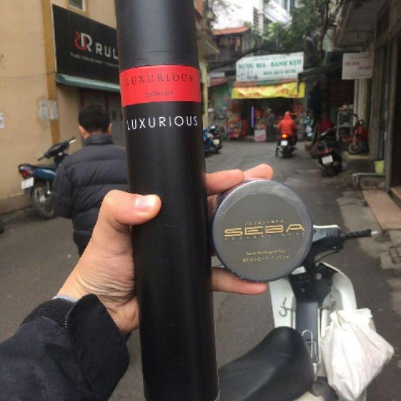 Combo Gôm xịt tóc Luxurious và Sáp Seba giá rẻ