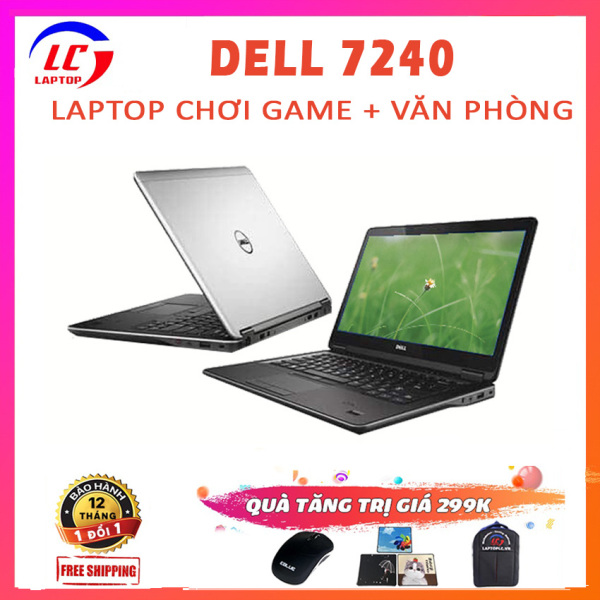 Bảng giá Máy Tính Laptop Xách Tay Dell Latitude 7240, i7-4600U, VGA on Intel HD 4400, Laptop Dell, Laptop Game Phong Vũ