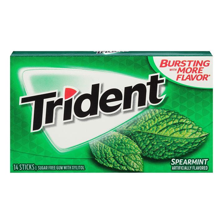 Kẹo singum Trident Spearmint