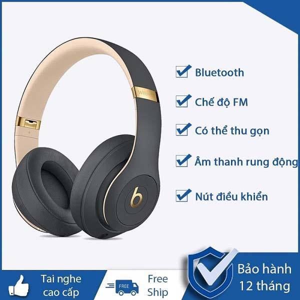 TAi Nghe Bluetooth Beats Studio Wireless 22hr Chống Ồn Bass Cực Mạnh,Chất Âm Tuyệt Hảo,Âm Thanh Sống Động Dòng Tai Nghe Đẳng Cấp Tinh Tế Từng Góc Cạnh,Sắc Nét Từng Chi Tiết,Thời Lượng Pin Khủng,Âm Thanh Trung Thực Chất Lượng Cao