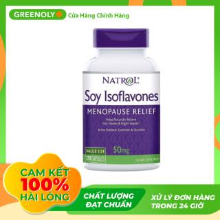 Viên Uống Soy Isoflavones Natrol Cho Nữ Chính Hãng 120 Viên - Greenoly Việt Nam phân phối chính hãng thumbnail