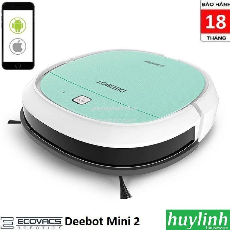Robot hút bụi lau nhà Ecovacs Deebot Mini 2 - Chính hãng