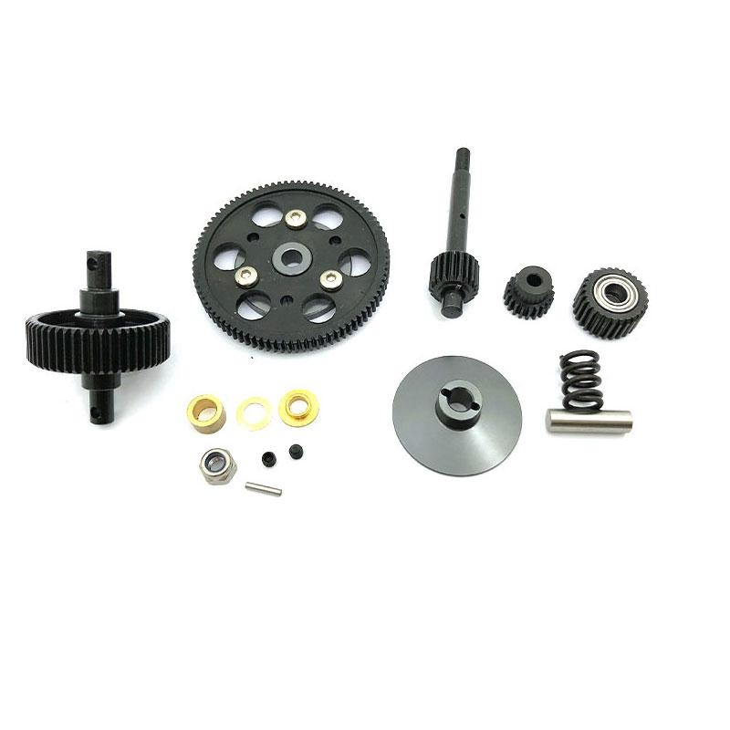 Giá bán Steel Drive Transmission Straight Gears Set for 1/10 RC Crawler Car AXIAL SCX10 Wraith Gearbox Parts