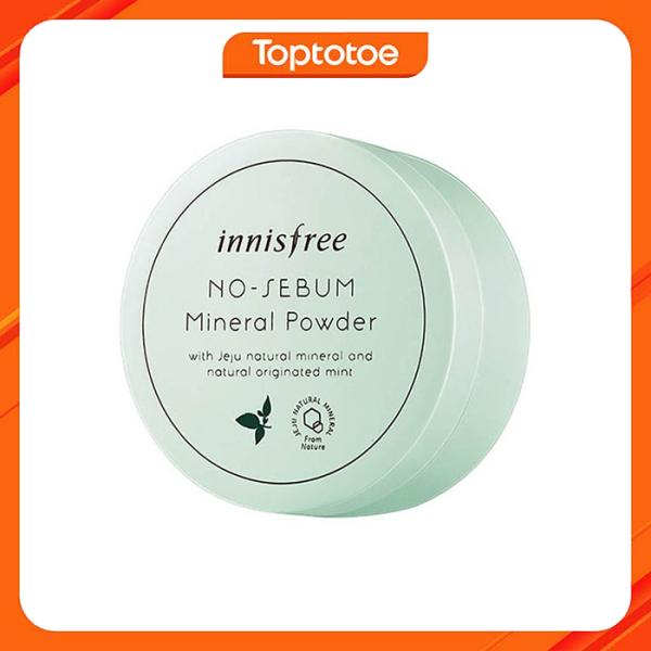 Phấn Bột Kiềm Dầu Innisfree No Sebum Mineral Powder 5g cao cấp