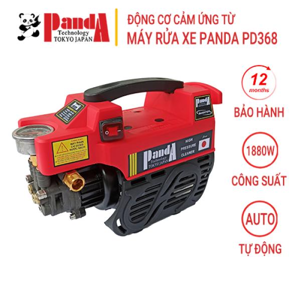 Máy rửa xe Panda PD368, Công suất 1880W, Máy phun áp lực dùng cho gia đình, Công nghệ Nhật Bản