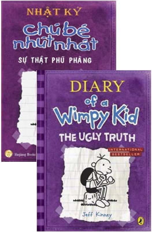 Fahasa - Combo Sách Hay Song Ngữ Diary Of A Wimpy Kid 5 - Sự Thật Phũ Phàng