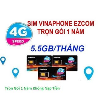 Sim vina mua 1 lần dùng cả năm vào mạng không giới hạn SIM 3G 4G DATA TRUY CẬP NHANH thumbnail