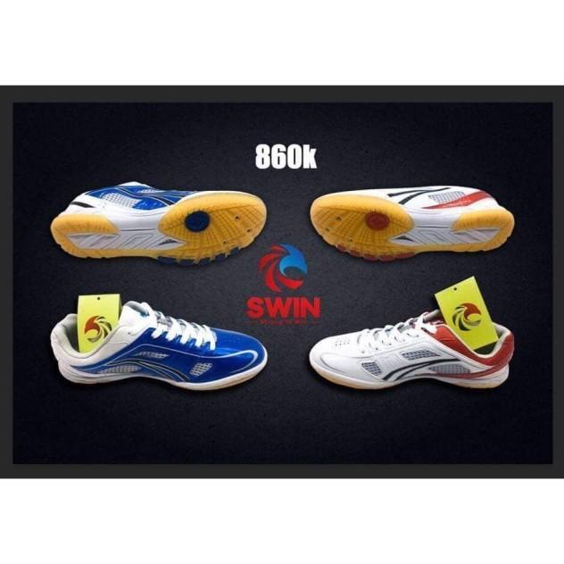 Giày SWIN Bóng Bàn Cầu Lông Bóng Chuyền Thiết Kế Gọn Năng Động Từng Bước Di Chuyển Cách Điện Chống Co Giãn giá rẻ